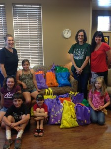 Christ Community Church group donated Helping Hands Bags