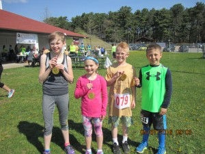 First four winners oldest kids