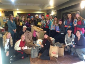 Marathon High School Student Council Holiday Giving